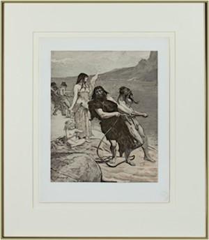 Cite Lacustre (L'Estampe Moderne I), 1897