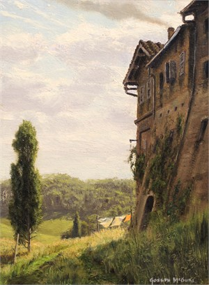 Convent Wall, Tuscany SOLD