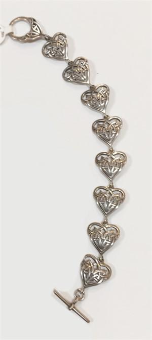 Bracelet - Silver Hearts 7335, 2019