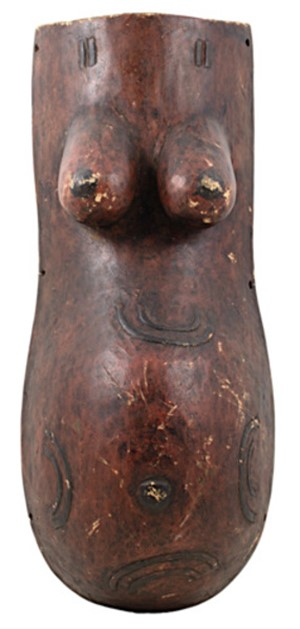 Female Fertility Body Mask Maconde-Tanzania, c.1930