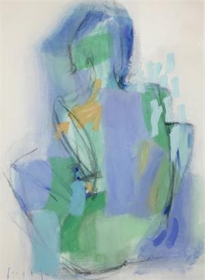 figure as a landscape