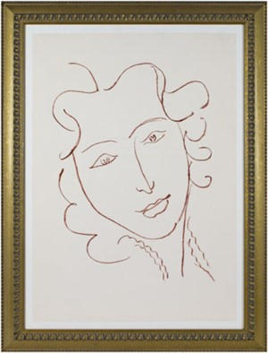 Head of Woman - Relaxed (from Florilege des Amours de Ronsard Portfolio), 2007
