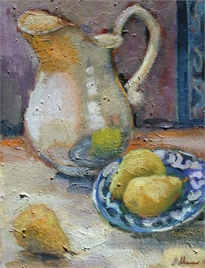 Still Life with Silver Pitcher