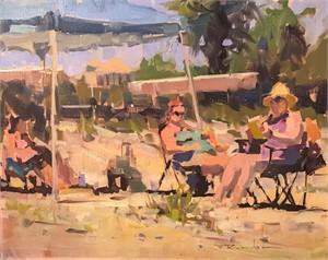 The Sunbathers, 2017
