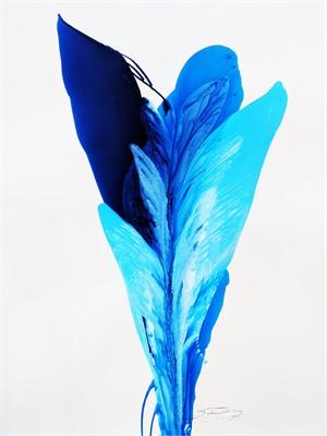 Blue Rio De' Colore' #3, 2018