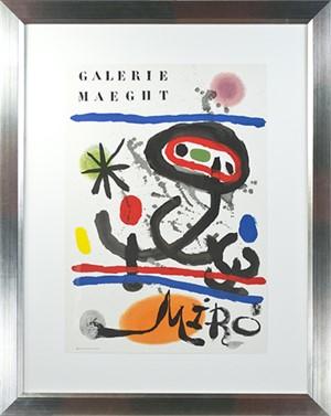 Galerie Maeght Miro © Maeght Editeur Imprimeur by Joan Miro