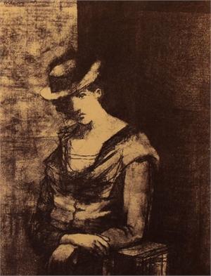 Untitled (Figure), 1949