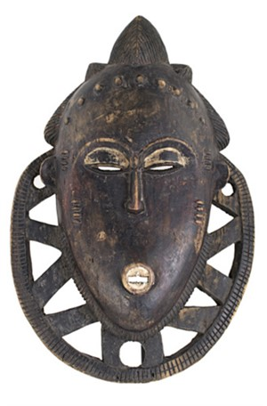 Baule Mask, Ivory Coast, c. 1920