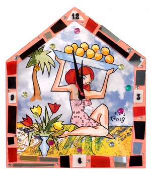 Tropical Fruit Clock