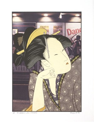 The Dreamer After Utamaro (AP/1), 1979