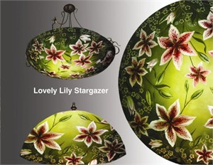 "Display Stargazer Lilly 30"" Ring - S"