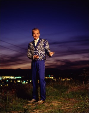 00030 Billy Bob Thornton Purple Sky Color, 2000