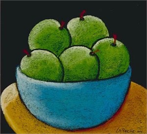 Granny Smiths - SOLD available for commission