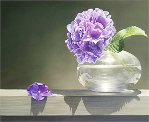 Hydrangea in Vase, 2019