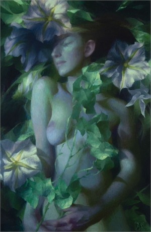 Moonflower by Adrienne Stein