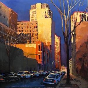 Blue Side Street, 2018