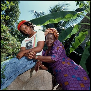 88011 Ziggy Marley With Rita Marley 1988 Color, 1988