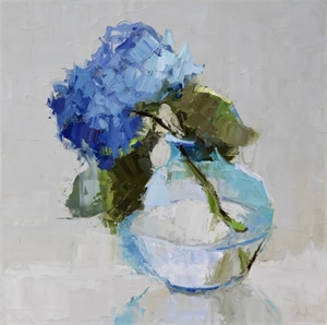 One in Blue by Barbara Flowers