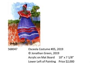 Osceola Costume #5, 2019
