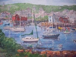 #2 Motif # 1, Rockport, MA by Shirley Akers