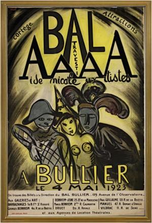 Bal AAAA Bullier, 1923