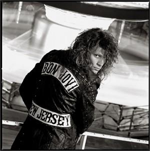 88130 Jon Bon Jovi Jacket BW, 1988