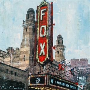 The Fox by Plaid Columns