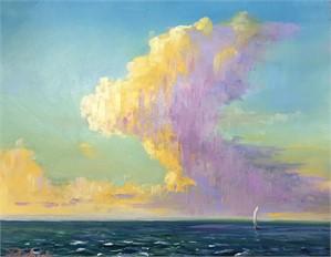 September Sail by Linda Richichi
