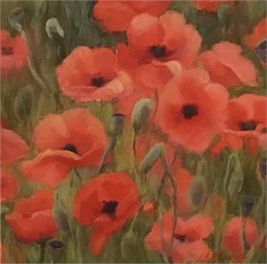 Field Poppies II, 2020