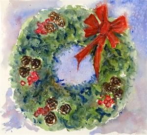 Holiday Wreath, 2019