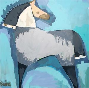 Equine Blue, 2019