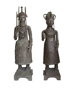 Benin King & Queen Nigeria, c.1900