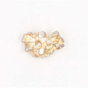 Sterling Silver Satin Finish Sugar Cluster Pin