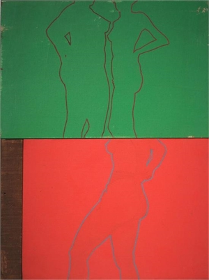 Untitled (Diptych), 1960s
