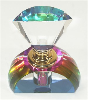 Crystal Perfume Bottle-Small-S