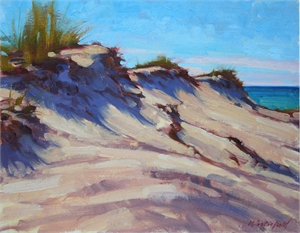 Midday Dunes by David Westerfield