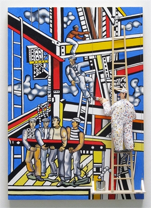 Leger - Construction Workers Final State, 2019
