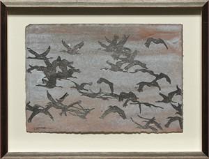 Calligraphy Of Cranes