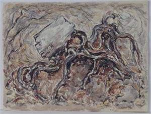 Old Cedar Roots, c. 1960