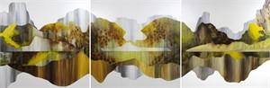 Aspen Symphonic Flow Triptych by Sarah Winkler