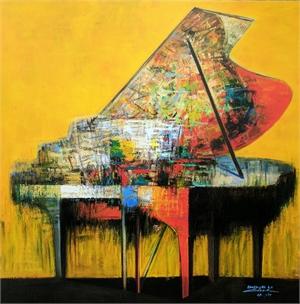 Piano in Yellow (1/1)