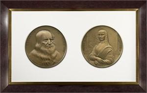 "Mona Lisa/Leonard da Vinci ""Masterpieces in  Medals"", 2017"