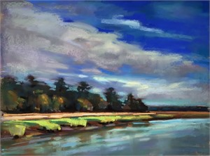 Clouds Over the Cooper by Susan Mayfield