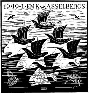Boats and Fish, 1948