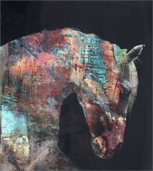 Multicolored Horse, 2014