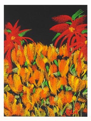 Carole's Garden: Red Mums
