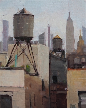 SoHo Rooftop No. 5, North by Julie Davis