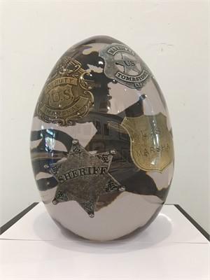 Egg Series Sheriff Badges , 2019