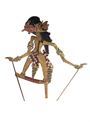 Puppet (flat) Wayang Klitik, 19th c.