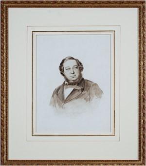 Portrait of Baron Mayer de Rothschild, Rothschild Collection, 1874